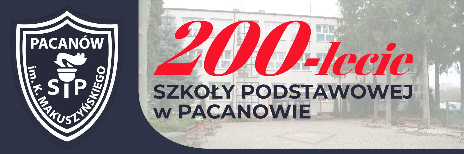 Witryna Szkoły Podstawowej im. Kornela Makuszyńskiego w Pacanowie