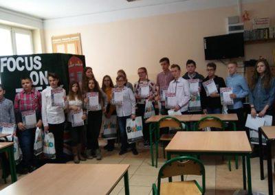 Sukces w konkursie języka angielskiego