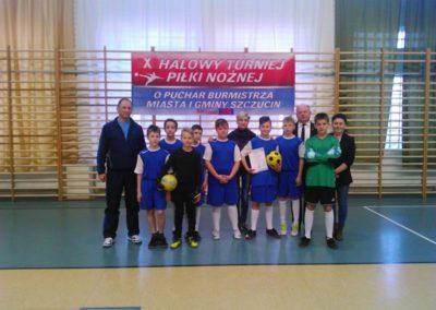 Turniej piłki nożnej w Szczucinie