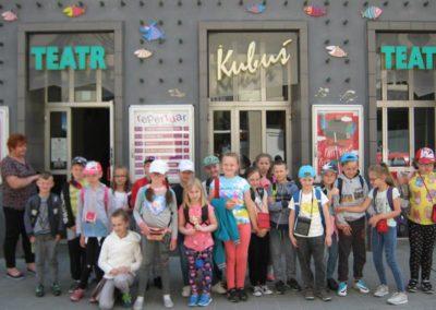 Klasa II a na wycieczce w Kielcach