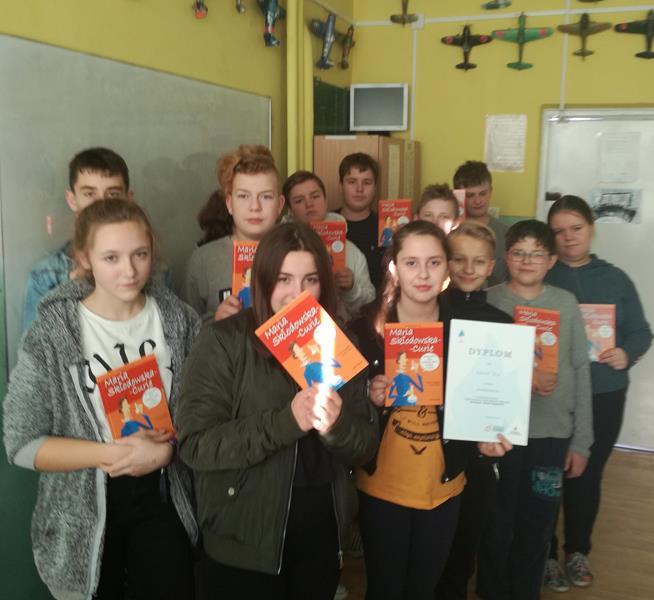 Sukces uczniów klasy VIIb w ogólnopolskim konkursie