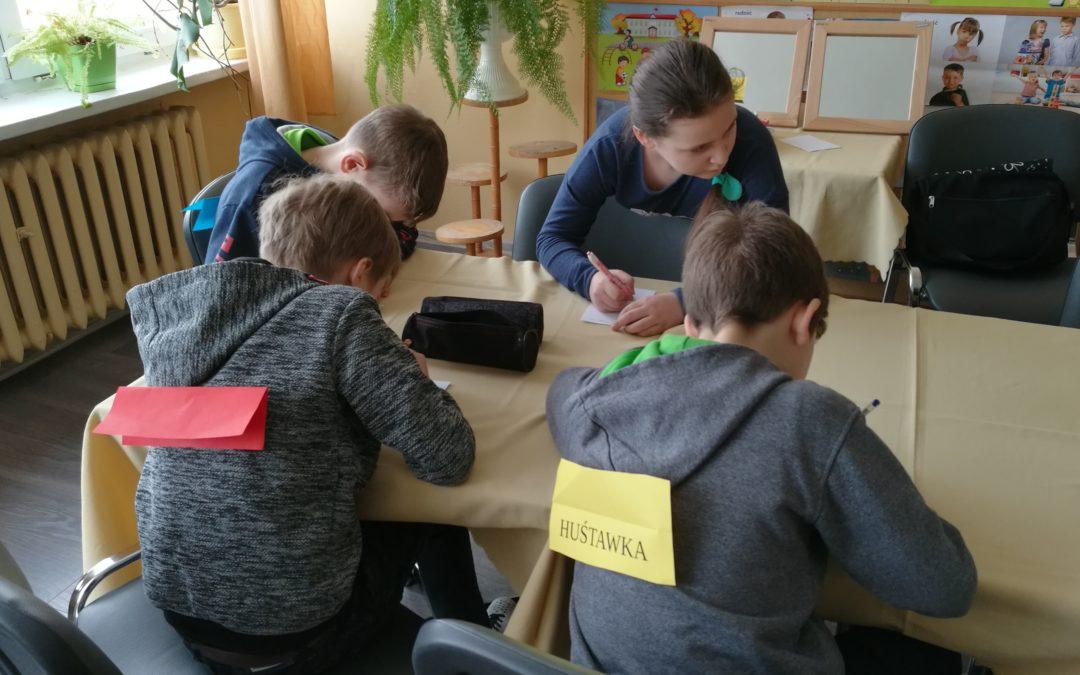 Zajęcia korekcyjno-kompensacyjne dla uczniów klas IV-VI