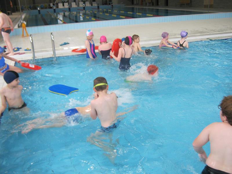 Rozwijamy swoje zainteresowania- nauka pływania
