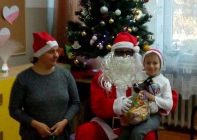Mikołaj w klasie I