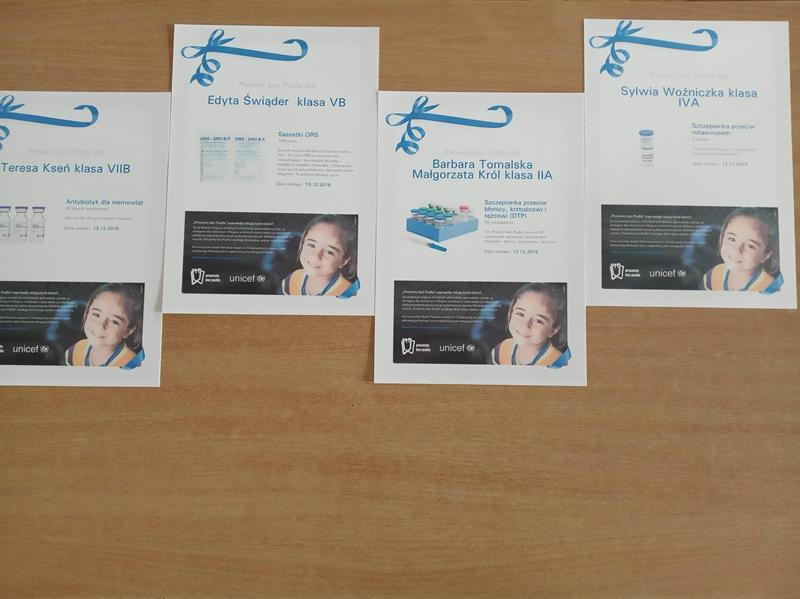 Kup prezent bez pudła – UNICEF