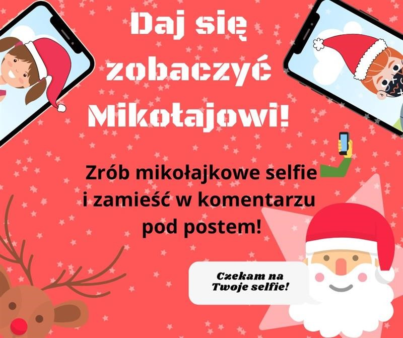 Mikołajkowe selfie