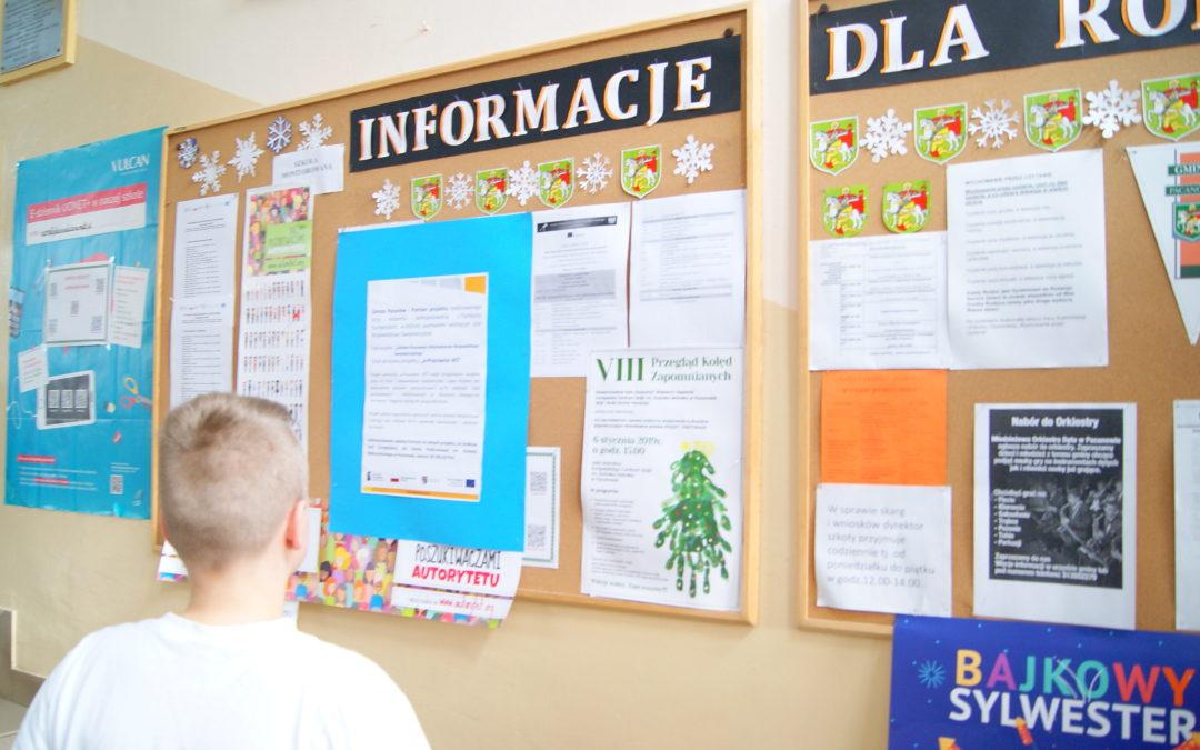 Nowoczesna edukacja w pacanowskiej szkole