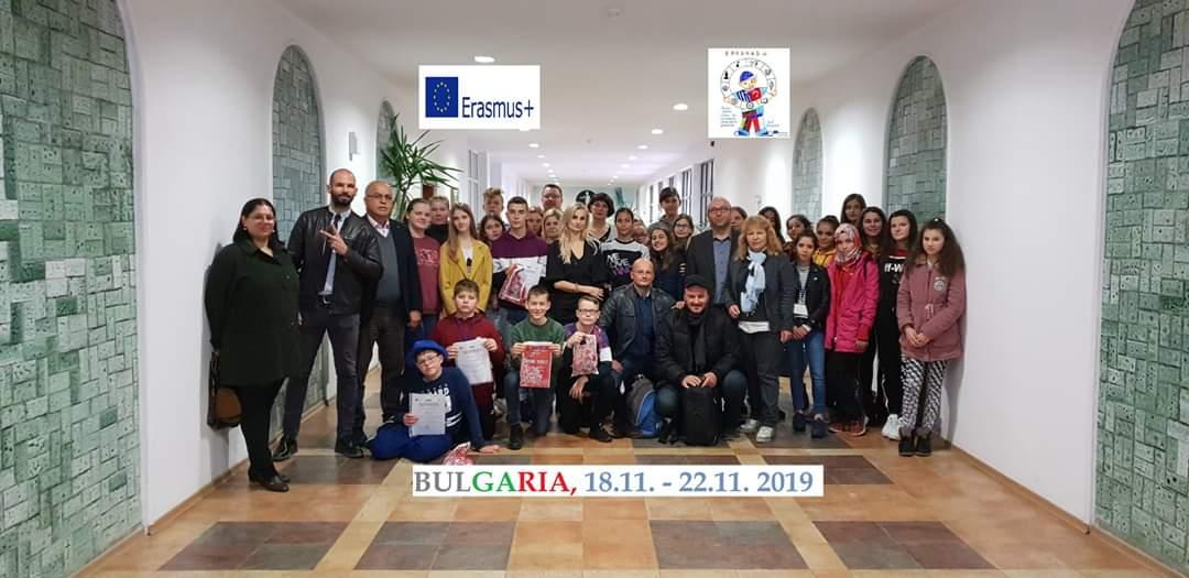 SP Pacanów z wizytą u przyjaciół w Bułgarii